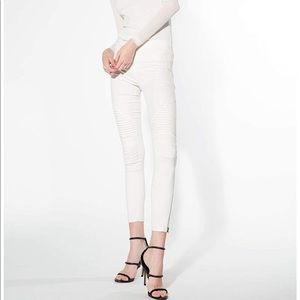 Beulah Jeggings white, Slimming